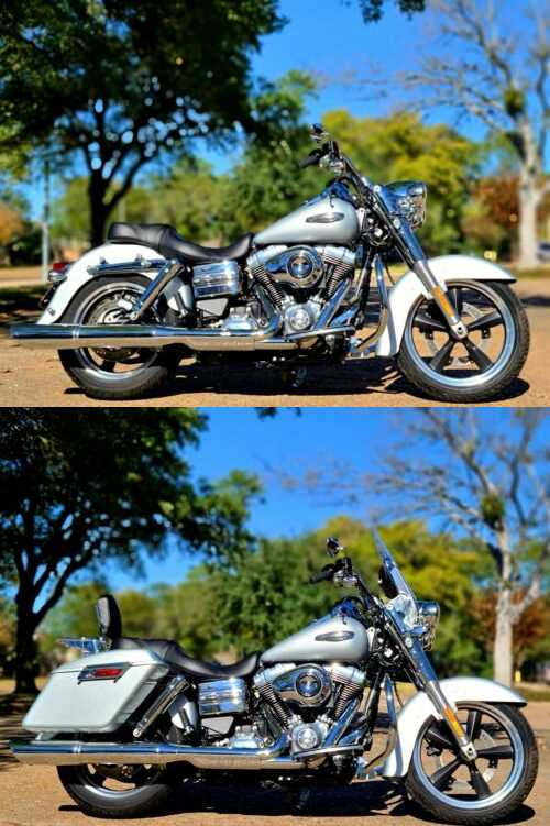 2014 Harley-Davidson Dyna Metallic Silver for sale craigslist photo