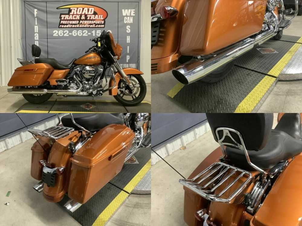 2014 Harley-Davidson FLHX - Street Glide® Amber Whiskey for sale craigslist photo