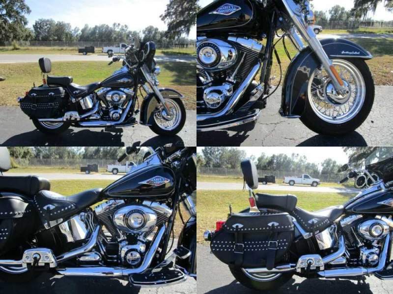 2014 Harley-Davidson Softail Heritage Softail® Classic Black for sale
