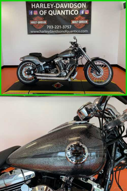 2014 Harley-Davidson Softail Hard Candy Chrome Flake for sale craigslist photo