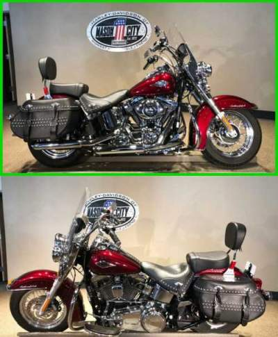 2014 Harley-Davidson Softail Heritage Softail® Classic Mysterious Red for sale
