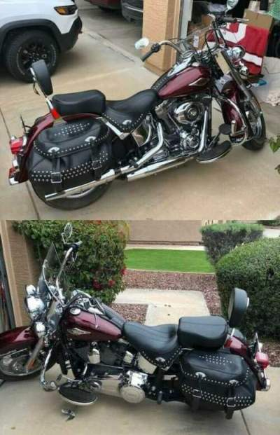 2014 Harley-Davidson Softail Red for sale   Used ...