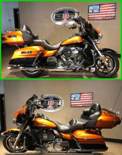 2014 Harley-Davidson Touring Electra Glide® Ultra Limited Amber Whiskey & Vivid Black for sale craigslist