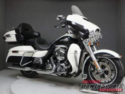 2014 Harley-Davidson Touring FLHTCU ELECTRA GLIDE ULTRA CLASSIC WABS BIRCH WHITE/MIDNIGHT PEARL for sale