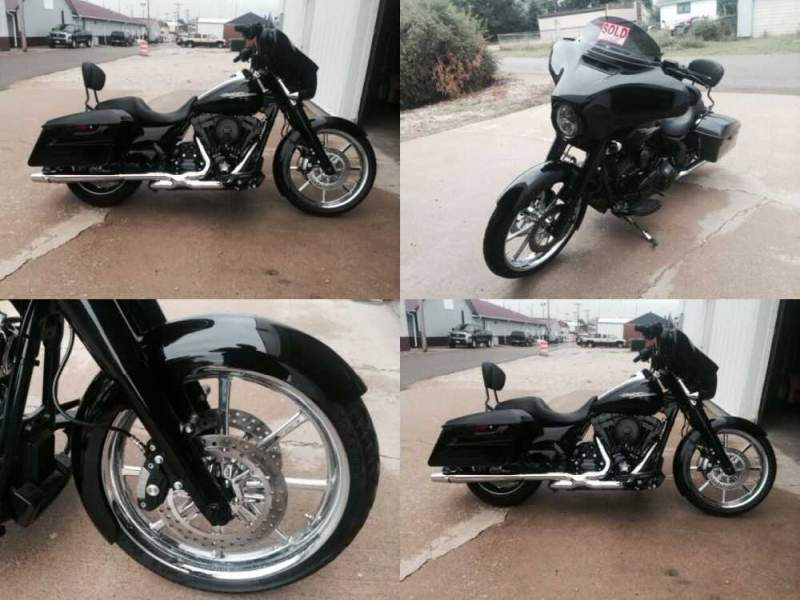 2014 Harley-Davidson Touring Black for sale craigslist photo