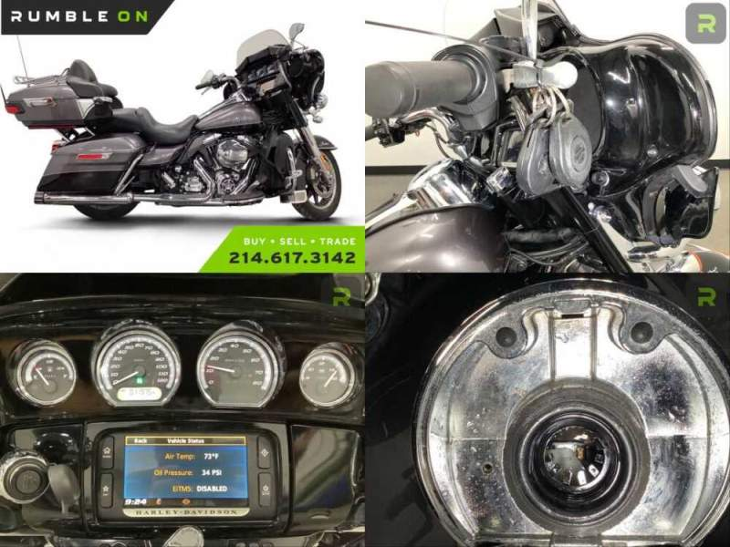 2014 Harley-Davidson Touring CALL (877) 8-RUMBLE Gray for sale craigslist photo