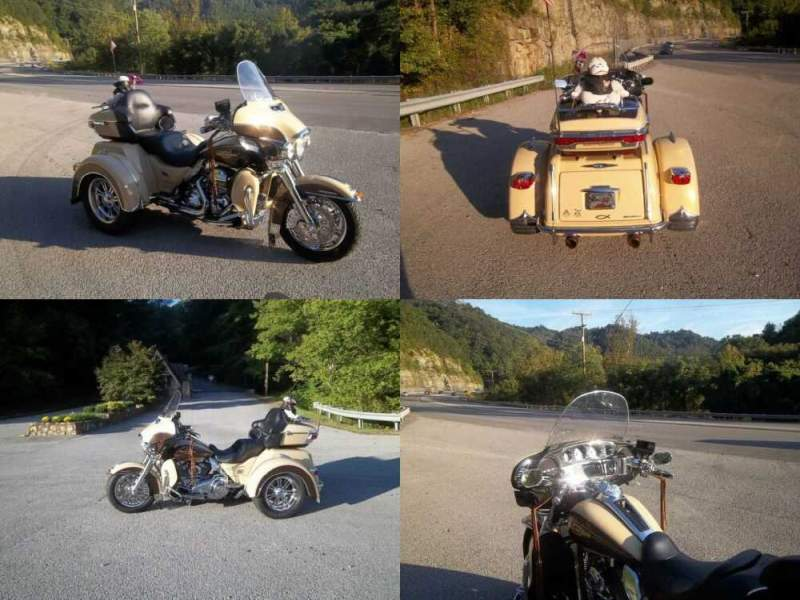 2014 Harley-Davidson Touring TAN/BROWN for sale craigslist photo