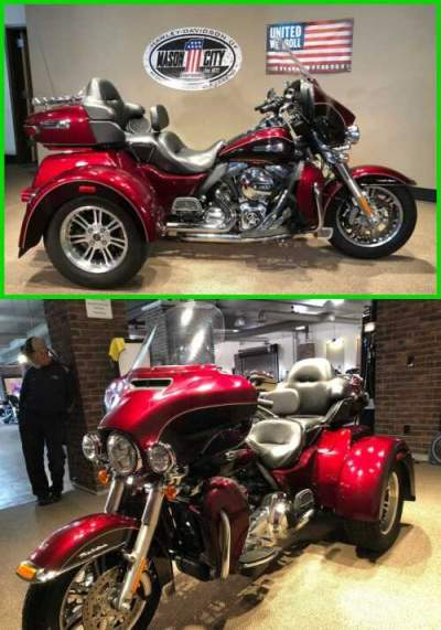 2014 Harley-Davidson Trike Tri Glide® Ultra Mysterious Red & Cayenne for sale