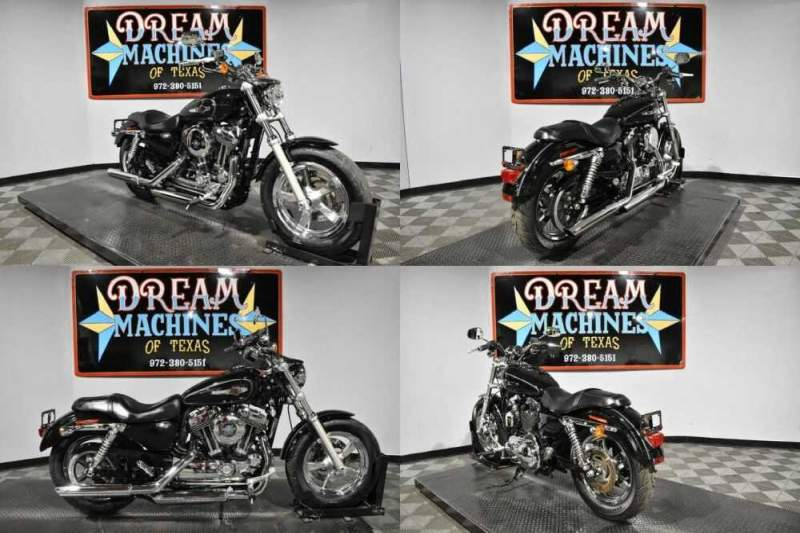 2014 Harley-Davidson XL1200C - Sportster 1200 Custom Black for sale craigslist photo