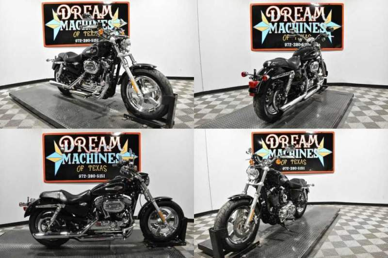 2014 Harley-Davidson XL1200C - Sportster 1200 Custom Black for sale