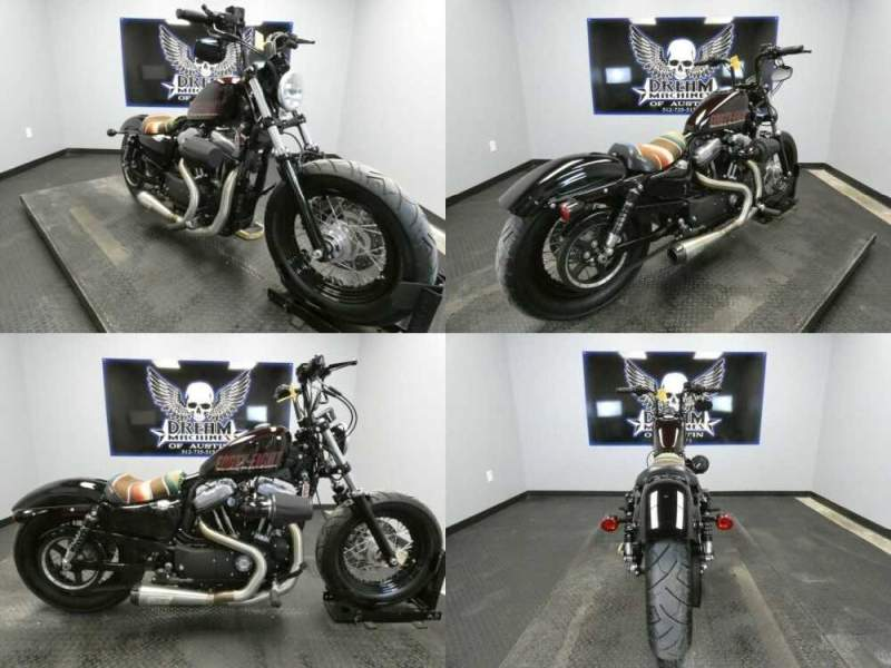 2014 Harley-Davidson XL1200X - Sportster Forty-Eight Burgundy for sale