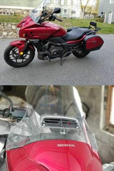 2014 Honda CTX700 DCT ABS Red for sale craigslist