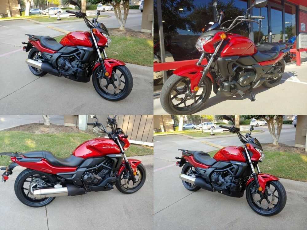 2014 Honda CTX700 Red for sale