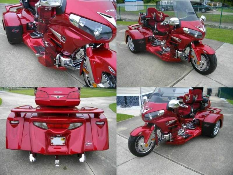 2014 Honda Gold Wing Red for sale craigslist