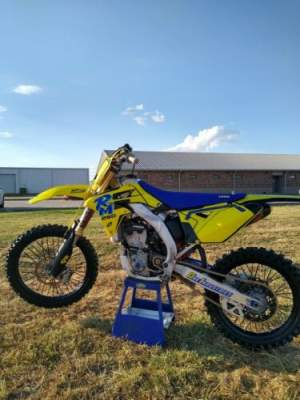 2014 Suzuki RM-Z Yellow for sale craigslist photo