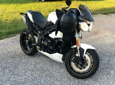2014 Triumph Speed Triple White for sale craigslist photo