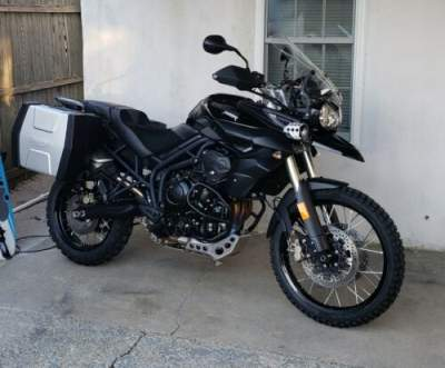 2014 Triumph Tiger Black for sale