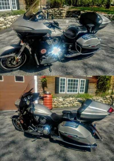 2014 Victory Cross Country Gold Rush-Black for sale craigslist photo