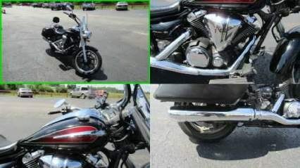 2014 Yamaha V Star Tourer Black Red for sale craigslist photo