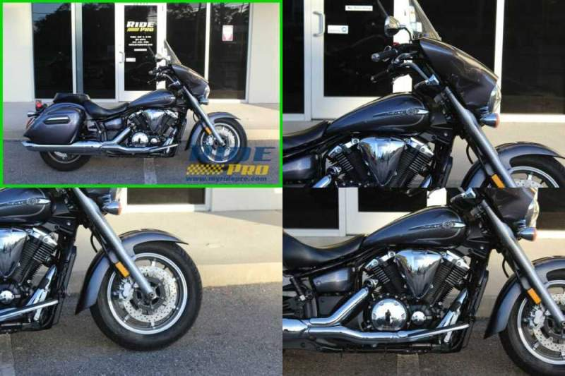 2014 Yamaha V Star Deluxe Grey for sale craigslist photo