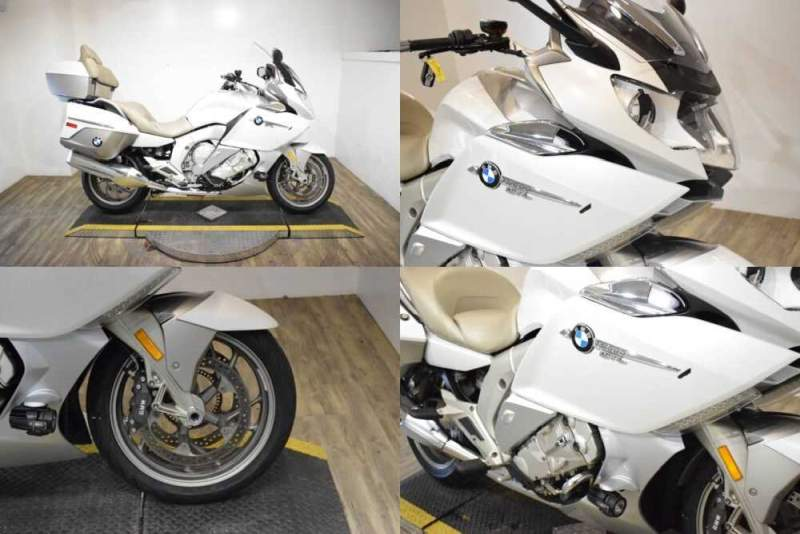 2015 BMW K 1600 GTL Exclusive White for sale craigslist