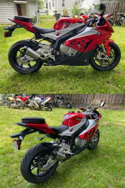 2015 BMW S1000RR Red for sale