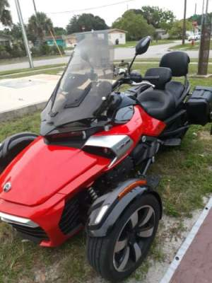 2015 Can-Am Can am spyder f3s Orange for sale craigslist photo