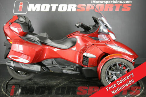 2015 Can-Am Spyder RT-S 6-Speed Semi-Automatic (SE6) Red for sale craigslist photo