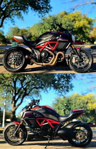 2015 Ducati Diavel Carbon Red for sale craigslist