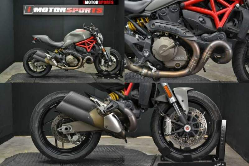 2015 Ducati Monster 821 Red Red for sale
