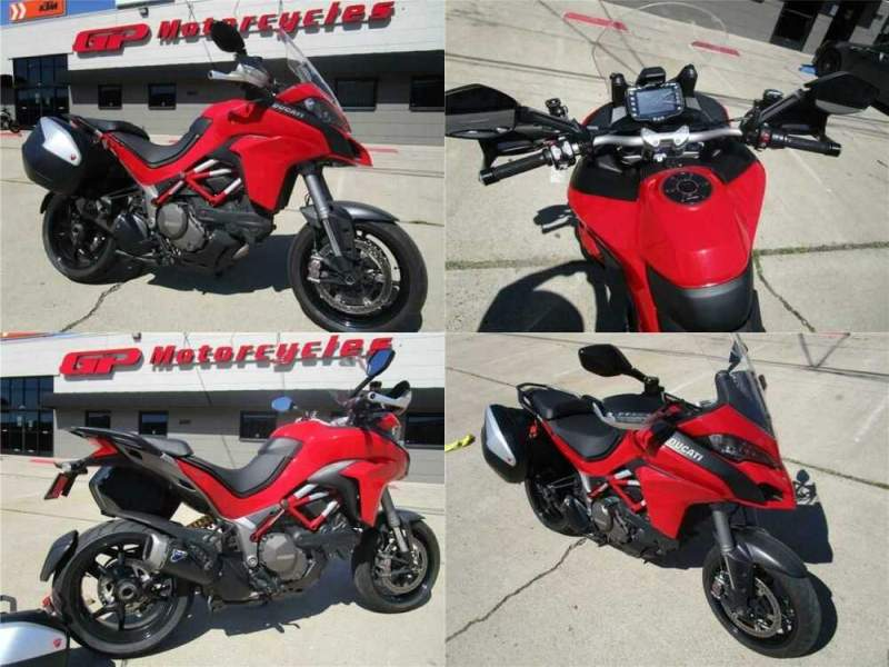 2015 Ducati Multistrada 1200 S Tour Red for sale craigslist