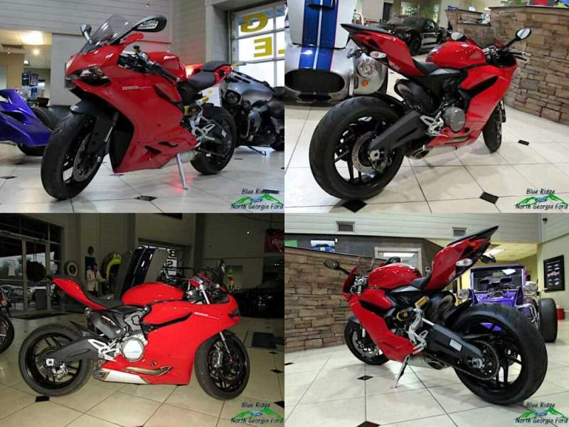2015 Ducati Superbike 899 Anniversary Red for sale craigslist photo