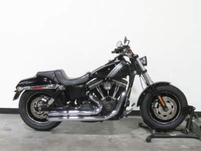 2015 Harley-Davidson Dyna FXDF FAT BOB VIVID BLACK for sale