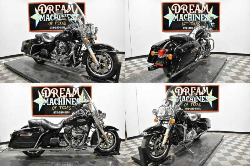 2015 Harley-Davidson FLHR - Road King Black for sale craigslist photo