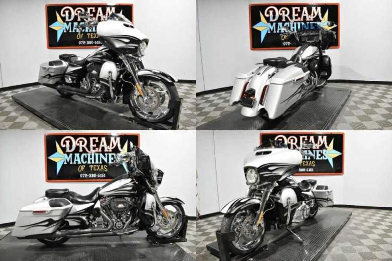 2015 Harley-Davidson FLHXSE - Screamin Eagle Street Glide CVO Hard Candy Mercury And Smoke Quartz Flames for sale