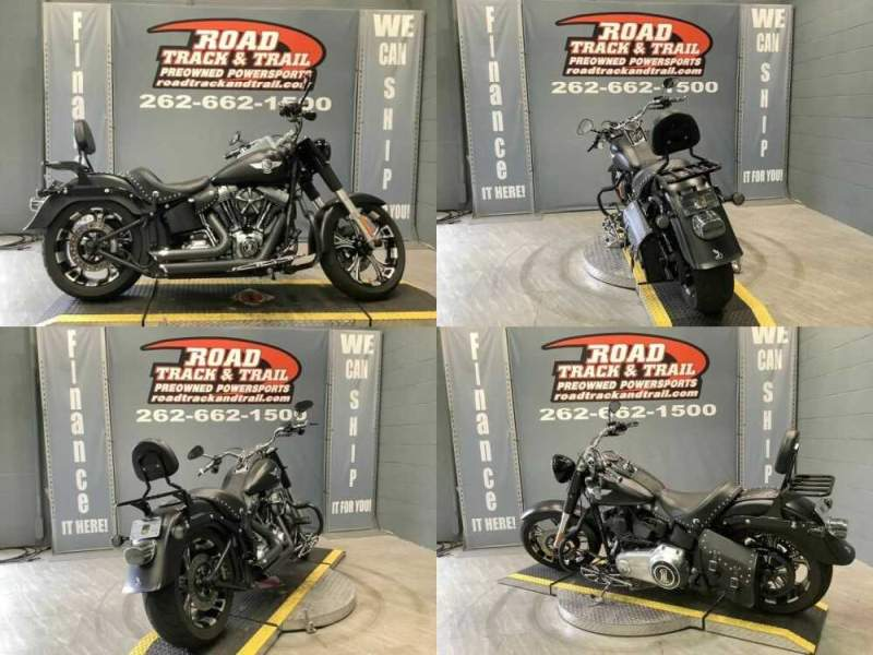 2015 Harley-Davidson FLSTFB - Softail® Fat Boy® Lo Black for sale craigslist photo