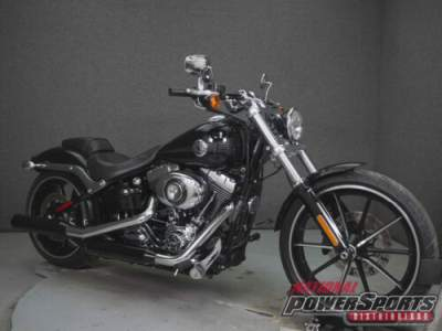 2015 Harley-Davidson Softail FXSB BREAKOUT WABS VIVID BLACK for sale
