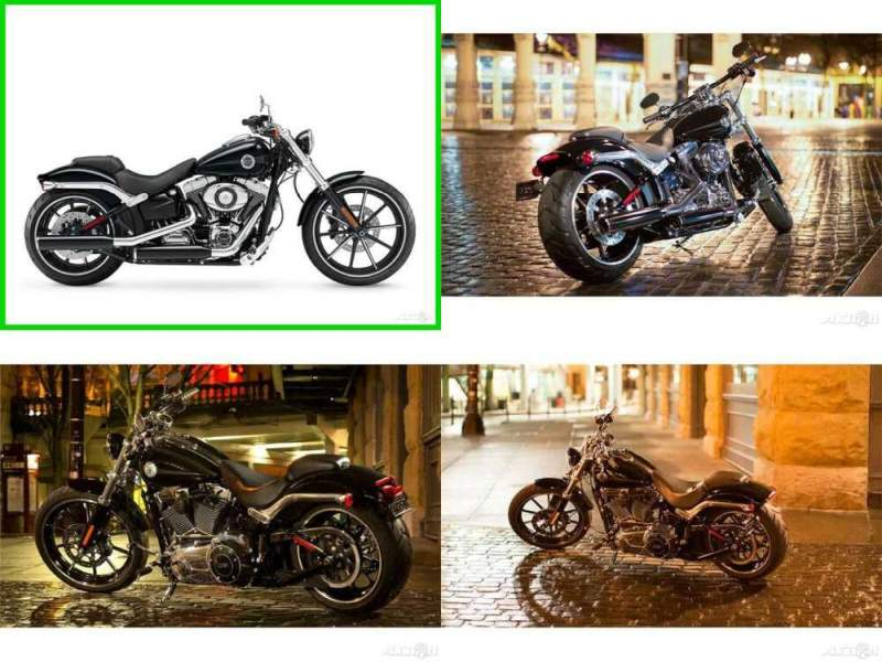 2015 Harley-Davidson Softail Breakout Vivid Black for sale craigslist