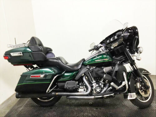 2015 Harley-Davidson Touring Deep Jade Pearl/Vivid Black for sale