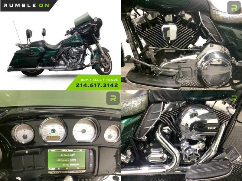 2015 Harley-Davidson Touring CALL (877) 8-RUMBLE Green for sale craigslist photo