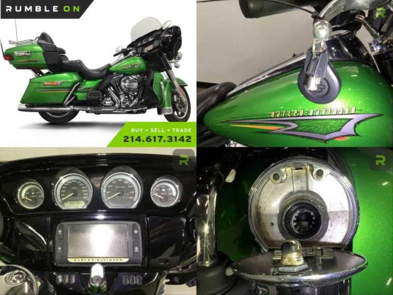 2015 Harley-Davidson Touring CALL (877) 8-RUMBLE Green for sale craigslist