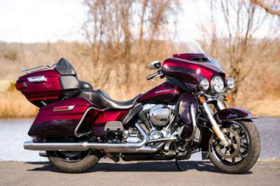 2015 Harley-Davidson Touring Mysterious Red Sunglo/Blackened Cayenne Sunglo for sale craigslist