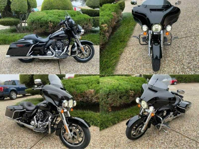 2015 Harley-Davidson Ultra Classic Low Black for sale craigslist photo