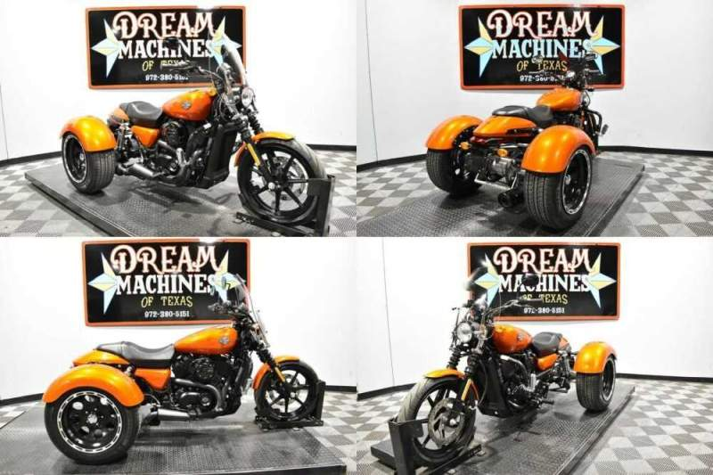 2015 Harley-Davidson XG500 - Street 500 Trike Orange for sale craigslist