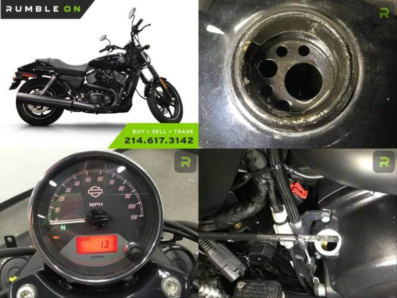 2015 Harley-Davidson XG750 CALL (877) 8-RUMBLE Black for sale craigslist photo