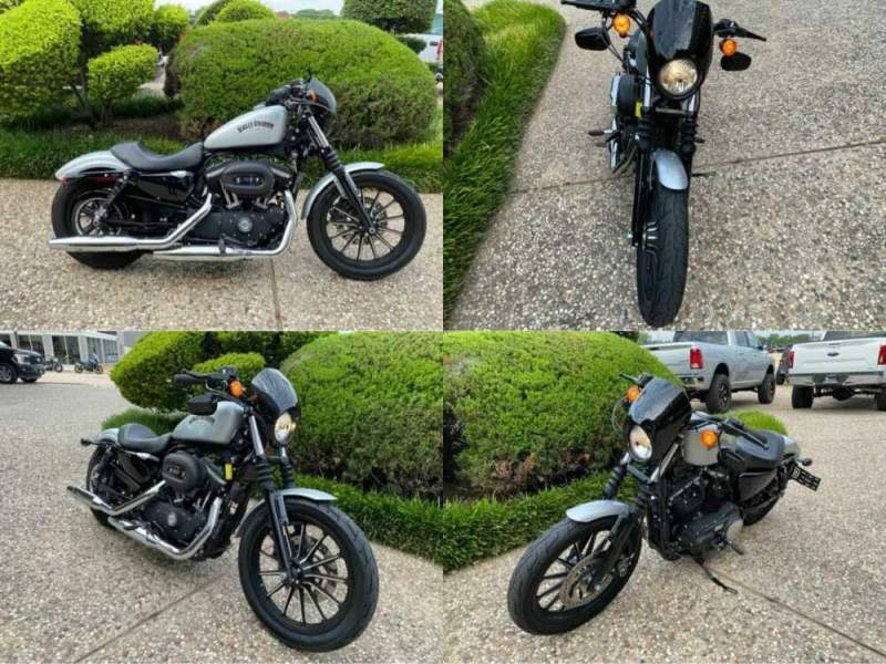2015 Harley-Davidson XL883N Sportster Iron 883 Silver for sale craigslist photo
