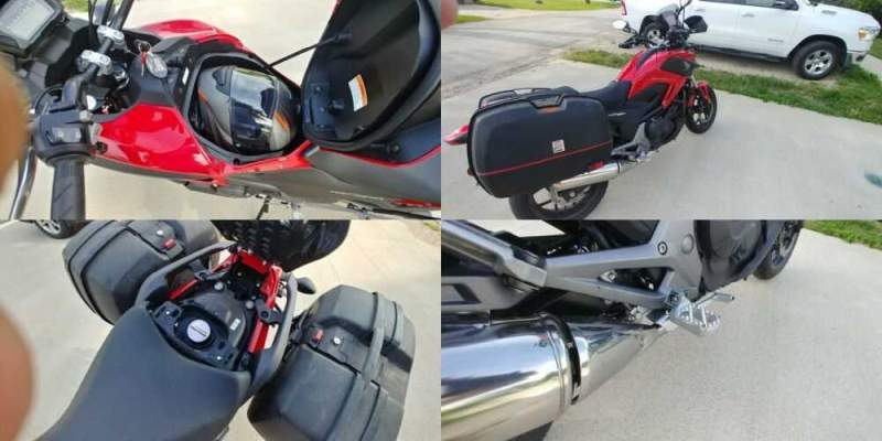 2015 Honda Nc700x Red for sale