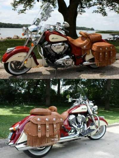 2015 Indian Chief Vintage Vintage Indian Red Indian Red/Ivory Cream for sale
