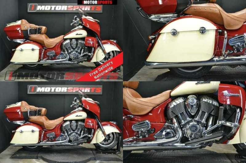 2015 Indian Roadmaster Indian Red/Ivory Cream Red for sale