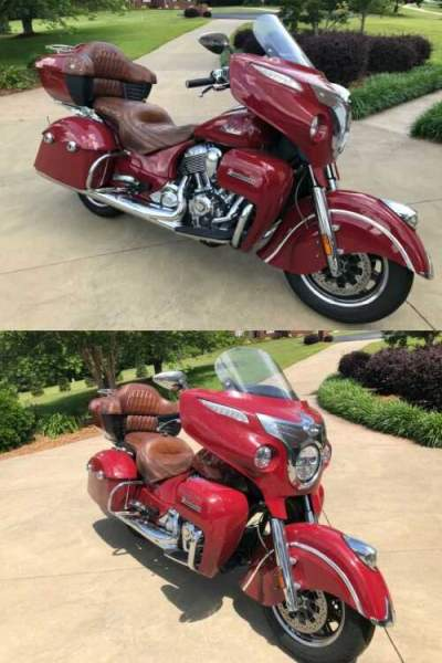 2015 Indian Roadmaster Indian Red Indian Red for sale